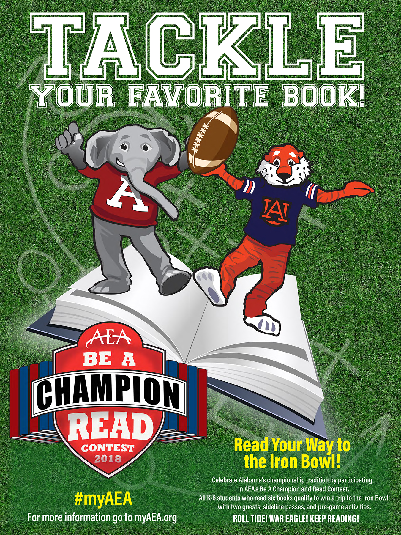 AEA Be A Champion and Read contest