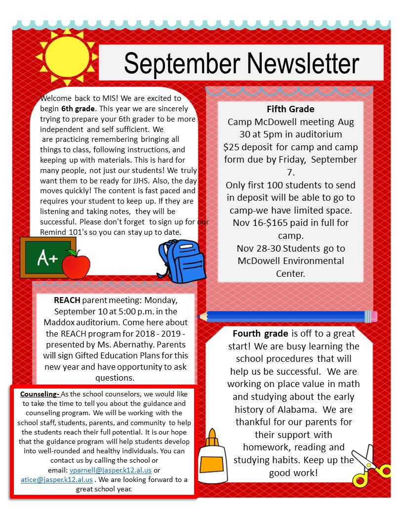 Sept. Newsletter